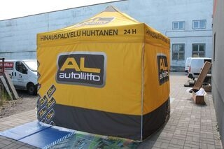 3x3m digiprinted tent