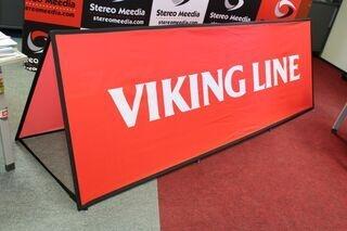 Viking Line soft banner 300x100cm