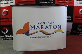 Suur esitluslaud Vantaa Maraton