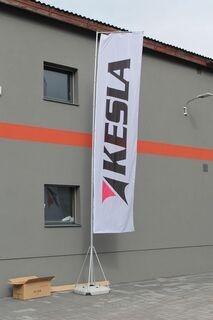 7m mainoslippu Kesla