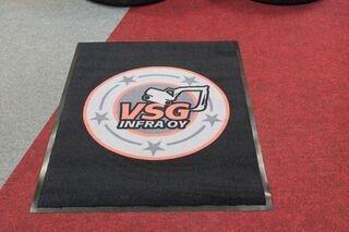 Logoga vaip VSG