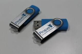 Logoga mälupulk - Properta