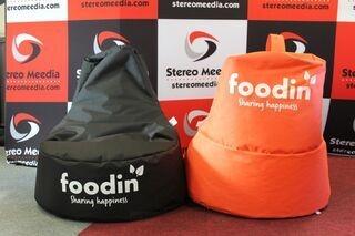 Logoga kott-toolid Foodin