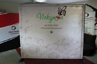 Advertising wall Vinkymon