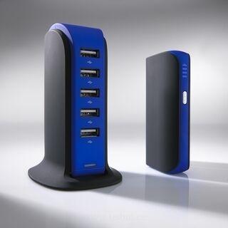 LAADIMISJAAM POWER TOWER, 5 USB 4. pilt