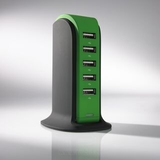 LAADIMISJAAM POWER TOWER, 5 USB 18. pilt